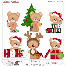 teddy bear templates clip art designs commercial use products