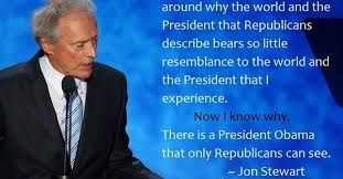 Clint Eastwood Chair Meme - political memes jon stewart a fistful of awesome
