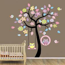 online get cheap swing wall sticker aliexpress com alibaba group 2016 sale new arrival wall stickers owl swing tree stickers removable diy vinyl quote wall sticker