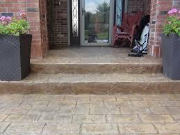 Decorative Concrete Patio Contractor Concrete Patio Construction Rod U0027s Quality Concrete Indianapolis