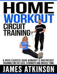 Home James by James Atkinson U0027s Home Workout Circuit Training Self Publisher U0027s