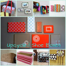 Home Goods Wall Decor by Upcycled Shoe Boxes I Love The Painted Tops For Wall Decor Trying