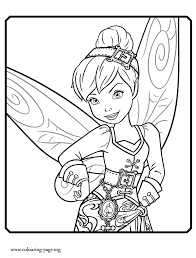 bird friends tinkerbell fairies coloring pages 30773