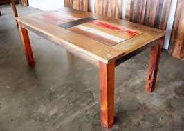 Reclaimed Timber Dining Table Recycled Timber Dining Table In Melbourne Region Vic Dining