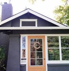homemade by monica orange front door
