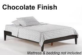 platform bed shop high quality solid hardwood sonata platform bed