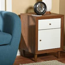 Arts And Crafts Nightstand Nightstands Bedroom Furniture The Home Depot