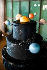 Outer Space Decorations Best 25 Solar System Cake Ideas On Pinterest Space Party Foods