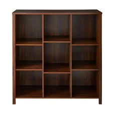 Home Depot Closetmaid Closetmaid 38 In W X 38 In H Black Walnut 9 Cube Organizer 16058