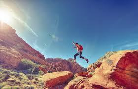 free stock photo of desert jumping