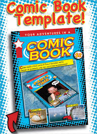 17 comic book templates free psd eps ai format download