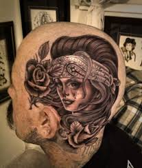 29 best head face tattoo images on pinterest aliens body