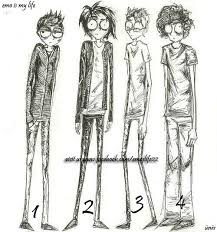 drawn boy skinny jeans pencil and in color drawn boy skinny jeans