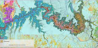 Geological Map Arizona Geology Interactive Geologic Map Of The Grand Canyon Area
