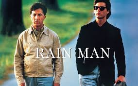 Rain Main - rain man 1988 best picture movie review by