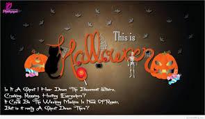 halloween card sayings