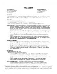 hobbies resume examples high school student resume with no work experience resume examples resume resume template no work experience resume delightful with regard to free resume templates for students