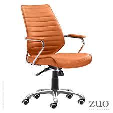glider hi back office chair 100372 zuo mod