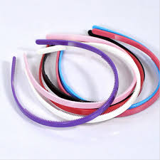 plastic headbands 10pcs plastic headbands thin hair hoops teeth headwear for women