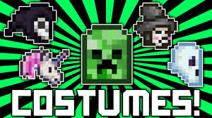 custom halloween bags terraria 1 2 1 how to get all costumes creeper costume ghost