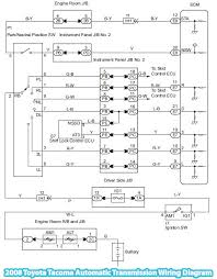 toyota automatic transmission wiring diagram wiring diagram and