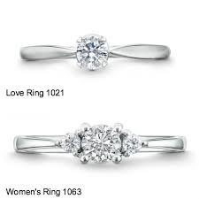 model cincin berlian mata satu cincin kawin cincin lamaran solitaire atau 3 mata berlian