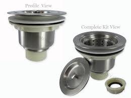 Kitchen Sink Plugs - gallery plain kitchen sink strainer kitchen sink plug strainer