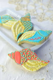 seashell shaped cookies 137 best sugar cookies images on decorated