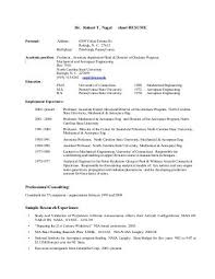 sample resume for a young professional