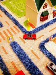 play town village roads kids mats cheap small large street cars