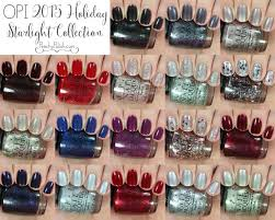 opi holiday 2015 starlight collection swatches u0026 review peachy