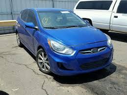 2012 hyundai accent gls for sale kmhcu5ae3cu050635 2012 blue hyundai accent gls on sale in az