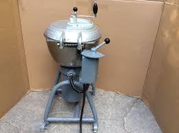 very nice used hobart vcm 40 vertical tilt cutter chopper mixer
