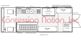 custom floorplans floor plan food truck design food truck kitchen design