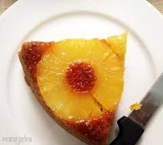 pineapple upside down cake eggless maayeka