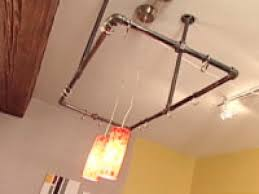 clever kitchen ideas industrial pot rack hgtv