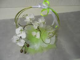Porte Alliance Fleur Déco Fleurs Mariage Blanc Et Vert Anis Meilleure Source D