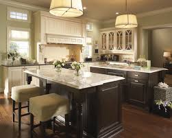 different countertops cream colored cabinets and different countertops