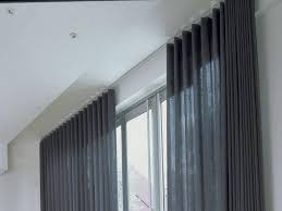 Curtain Railing Designs Photo Gallery Of Track Curtains Ikea Viewing 7 Of 15 Photos