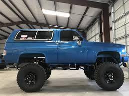 el camino lifted 1987 chevrolet k5 blazer lifted for sale in greenville tx 75402