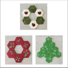 hexagon ornaments my s quilt shoppe midway