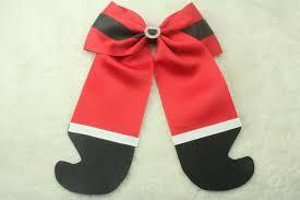 bow for hair 2015 satan ribbon hair bow christmas cheer bows large bows for
