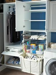 Laundry Room Storage Units 10 Clever Storage Ideas For Your Tiny Laundry Room Hgtv S