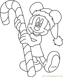 100 ideas mickey christmas coloring pages free emergingartspdx