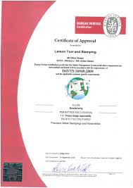 bureau veritas us certification larson tool