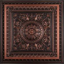 Ornate Ceiling Tiles by La Scala 2 Ft X 2 Ft Pvc Lay In Or Glue Up Ceiling Tile In