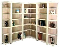 Wood Corner Bookcase Small Corner Bookcase Corner Bookshelf Wood Small Black Corner