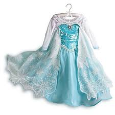 elsa costume disney store exclusive frozen princess elsa dress