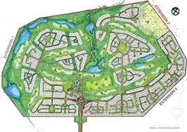 estate map copperleaf estate layout property architectural guidelines