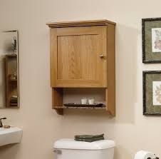 Bathroom Toilet Cabinets Above Toilet Cabinet In Small Bathrooms An Shelving System Is A